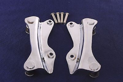 Talon Billets - E44 4 Point Docking Hardware 4 Harley road king Glide Street Glide FLHR FLHR 14-16