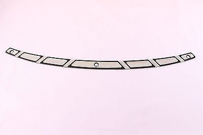 Black Anodized Windshield Trim 4 Harley Electra Glide Ultra Classic Street Glide