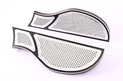 Talon Billets - Billet Foot Board Footboards Floorboards 4 Harley Touring Fatboy Softail 80-Up