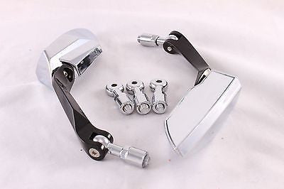 Talon Billets - Chrome Rearview Mirrors 4 Harley Softail Sportster Dyna Touring Road King