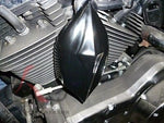 Talon Billets - Horn Cover For Bagger Harley Baggers Touring Flh Fiberglass Road King Street