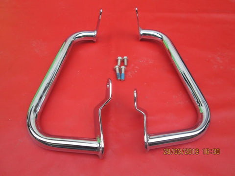 C24 Suzuki M90 Cruiser Boulevard Highway Crash Bar Chrome Engine Guard 09-13