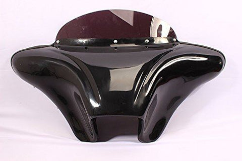 "Talon Billets - Batwing Fairing Windshield 4 Yamaha Vstar 650/1100 Custom 6.5"" Holes Bagger"