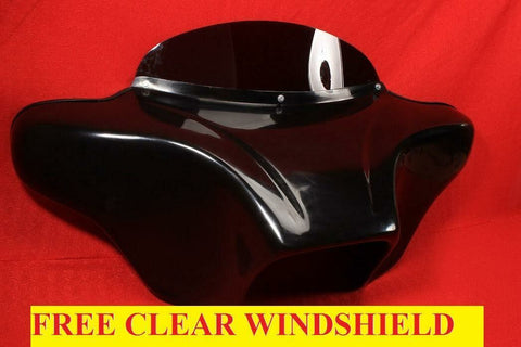 Talon Billets - BATWING FAIRING WINDSHIELD 4 YAMAHA ROAD STAR FAIRING 4X5 INCHES FIBERGLASS GC