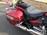 Talon Billets - Hard Leather Saddlebags Guard RAIL BAR YAMAHA Roadliner Stratoliner Deluxe Nice