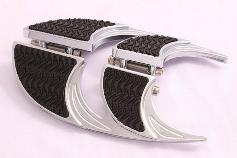 Talon Billets - FOOTPEGS FOOTBOARDS FLOORBOARDS PEGS BOARDS REST HARLEY TOURING ROAD KING GLIDE