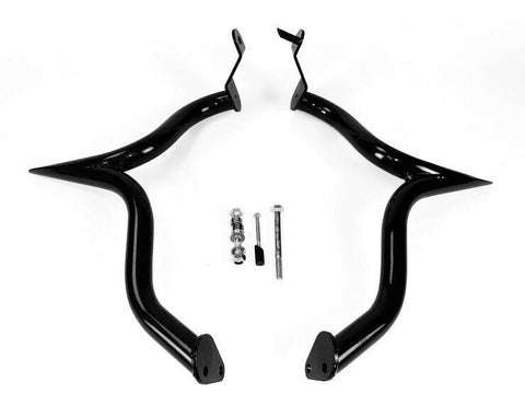 C19-2 BLACK Suzuki M109R Limited Engine Case Guard Highway Crash Bar Boulevard Bagger Black