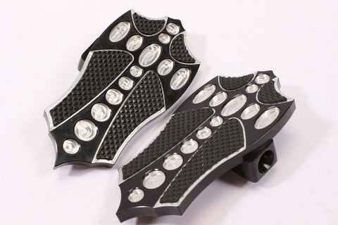 Talon Billets - FRONT FOOTBOARDS FLOORBOARDS FOOTPEGS FOOT BOARDS PEGS Kawasaki 00-07 Ninja 250