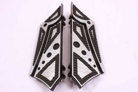Talon Billets - FOOTBOARDS PEGS FOOTPEGS FLOOR BOARDS HARLEY SOFTAIL FL HERITAGE FAT BOY CUSTOM