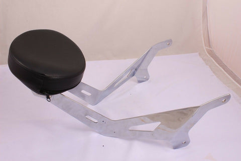 USA-BIKER YAMAHA STAR STRYKER FIXED MOUNT SHORT  BACKREST UPRIGHT & CUSTOM PAD
