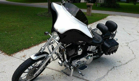 FAIRING HARLEY DYNA WIDE LOW RIDER SUPER GLIDE CUSTOM STREET BOB 06- LATER