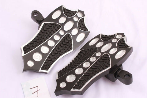 Talon Billets - REAR FOOTPEGS FOOTBOARDS FLOORBOARDS PEGS BOARDS YAMAHA Road Star 1700 Warrior