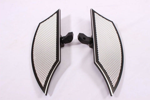 Talon Billets - Footpegs Floorboards Footboards Foot Pegs Board Rear 4 Victory '17 Octane