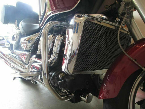 Talon Billets - Front Engine GUARD HIGHWAY CRASH Dresser Bar Triumph Rocket III Roadster Touring