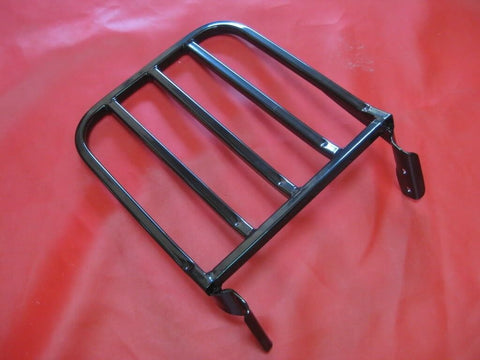 Talon Billets - BACKREST SISSY BAR  LUGGAGE RACK FOR SOFTAIL HARLEY FATBOY SLIM FXSTC LO