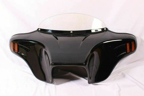 "Talon Billets - 5"" Holes Batwing Fairing Windshield Suzuki Boulevard C90 C90t 05-09 Painted Vivi"