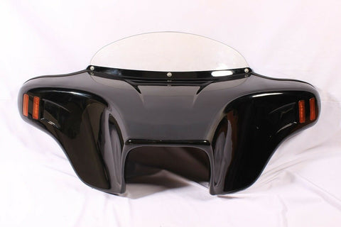 Talon Billets - BATWING FAIRING WINDSHIELD PAINTED VIVID 4 YAMAHA VSTAR V STAR 650 1100 CLASSICh
