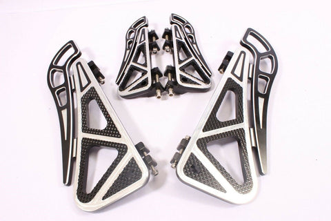 Talon Billets - FOOTBOARDS FLOORBOARDS FOOT PEGS FLOOR BOARDS 4 HARLEY TOURING ROAD