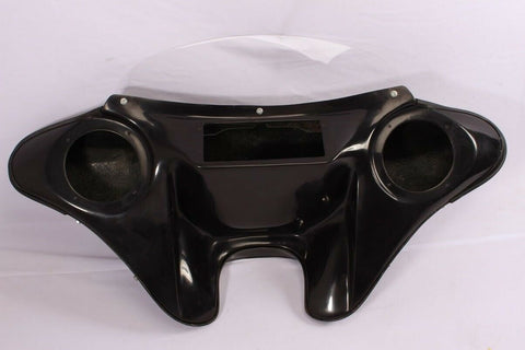 "Talon Billets - BATWING FAIRING WINDSHIELD 4 YAMAHA VSTAR CUSTOM 650/ 1100  6.5"" SPK HOLES"