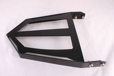 Talon Billets - Black Backrest Sissy Bar Luggage Rack 4 Victory Cross Country Road Tour