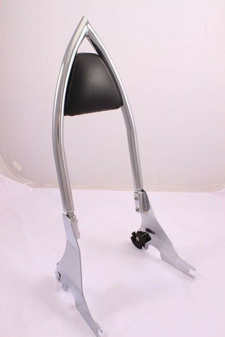 Talon Billets - BAGGER BACKREST SISSY BAR FOR HARLEY SPORTSTER 1200 883 XL CUSTOM IRON LOW 04-UP