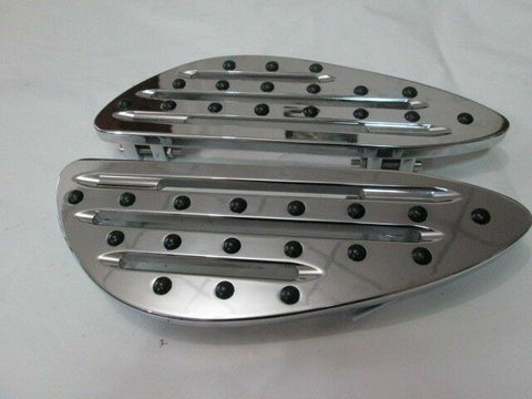 Talon Billets - FOOTBOARD FLOORBOARDS FOOTPEGS PEGS HARLEY TOURING ROAD KING STREET GLIDE ULTRA