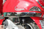 Talon Billets - VESPA LX 50 125 150 LX50 LX125 LX150 SIDE SKIRTS RAILS RACK TRIM CHROME COVER