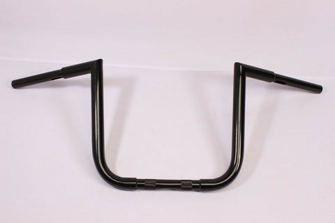 "BLACK APE HANGER HANDLEBAR 12"" 4 98-07 Honda VT1100C2 Shadow Sabre Fat Custom"