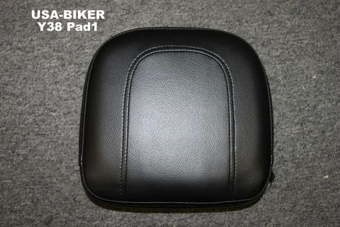 Talon Billets - BACKREST SISSY BAR PAD   HARLEY SOFTAIL HERITAGE CUSTOM DELUXE SPRINGER CLASSIC