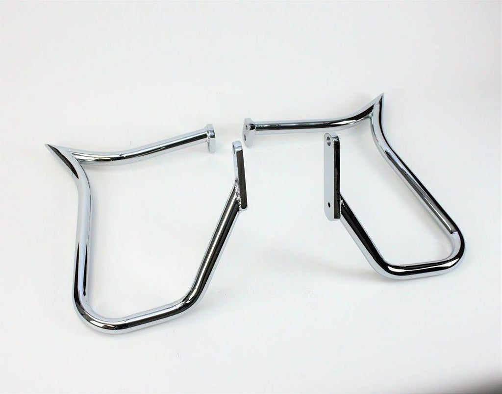 SADDLEBAGS GUARD RAIL BAR BAGGER HARLEY SOFTAIL HERITAGE SPRINGER  97-99 FLSTS