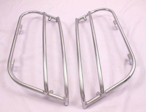 Talon Billets - SADDLEBAGS LIDS GUARD RAILS CRASH BARS 4 HARLEY FXRT FXRD FRX USA-BIKER E68