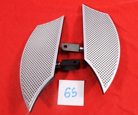 Talon Billets - FOOTBOARDS FOOTPEG PEGS BOARDS FLOORBOARDS PASSENGER Suzuki Boulevard M50 05-17