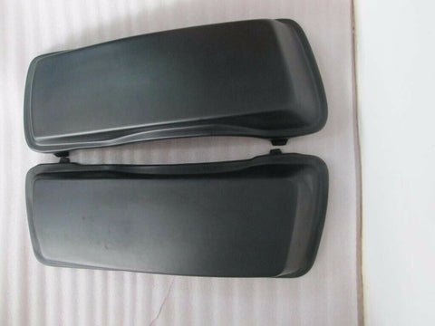 Talon Billets - BAGGER SADDLEBAGS LIDS 4 TOURING HARLEY ROAD KING GLIDE ULTRA CLASSIC 93-13