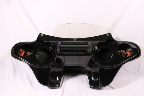 "Talon Billets - BATWING FAIRING WINDSHIELD HONDA VT1100 SHADOW SABRE 00-08 5"" SPEAKER PAINTED"