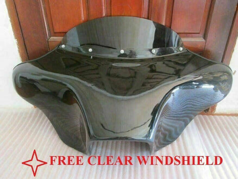 Talon Billets - BATWING FAIRING WINDSHIELD 4 YAMAHA ROAD STAR FAIRING 6x9 HOLES FIBERGLASS GC