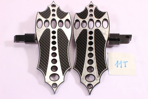 Talon Billets - FOOT PEG MINI FLOORBOARD 4 Harley Sportster '12-'16 XL1200V Seventy-Two 72