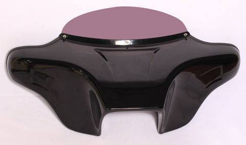 Talon Billets - Abs Painted Harley Batwing Fairing Windshield 4 Touring Road King Standard Flhr Police