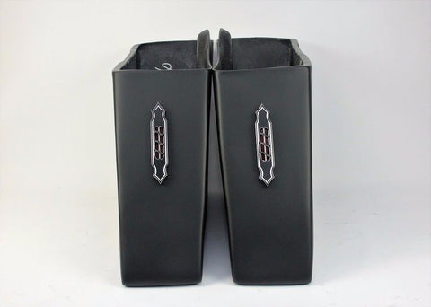 "Talon Billets - S1 + LA7 4"" Bagger Extended Saddlebags Stretched Harley Touring ROAD KING Electra Softail"