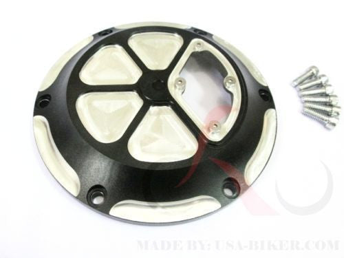 6 HOLE DERBY COVER HARLEY TWIN CAM SPORTSTER 1200 883 XL 04-16