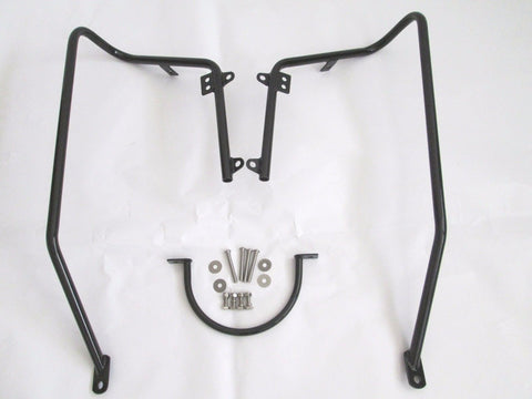 Talon Billets - FLH Saddlebags Conversion Brackets Mount 4 Harley Sportster XL1200C 883 04-Up