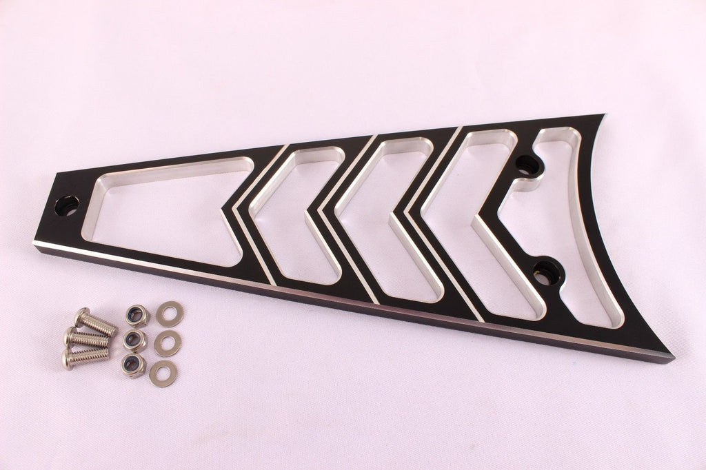 CNC BILLET Frame Grill RADIATOR COVER 4 Harley Touring Road Electra Street Glide