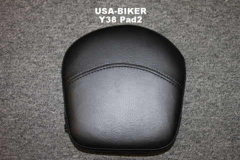 Talon Billets - Y38 Pad 2 Premium Pad 4 Backrest Sissy Bar Harley Softail Heritage Custom Deluxe Springer