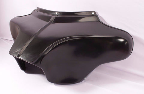 "Talon Billets - HONDA VTX C R S 1800 1300 BAGGER 4x5"" SPKS BATWING FAIRING WINDSHIELD BLACK"