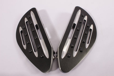 Talon Billets - Footpegs Floorboards Footboards Foot Pegs Front Harley Touring T Flst Flht 80-Up