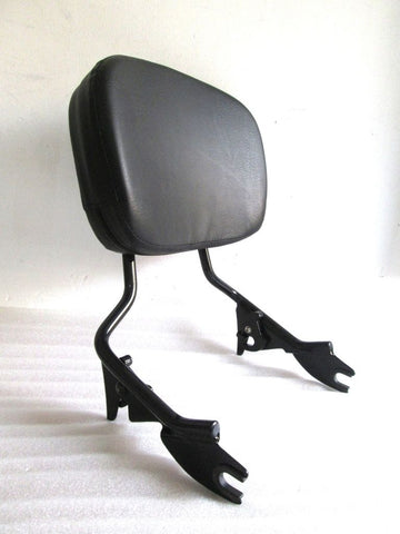 Talon Billets - Y38 N4 Black Backrest Sissy Bar 4 Harley Touring Road King 09-18 Glide Street Electra Black