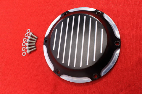 Talon Billets - 6 HOLE DERBY COVER HARLEY TWIN CAM SPORTSTER 1200 883 XL 04-16