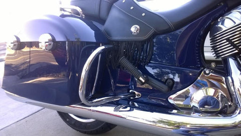 Indian Motorcycle's Rear Highway Bars Chrome Chief/Chieftain 2014-2015