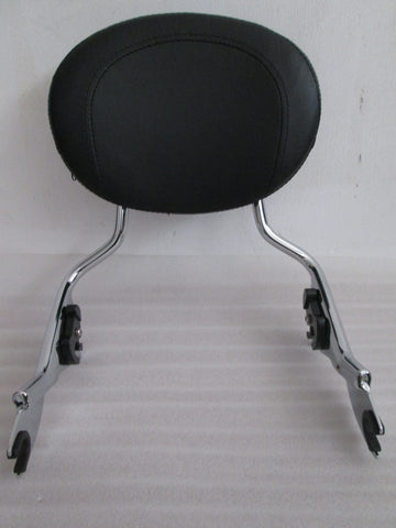 Talon Billets - Y38 N5 Backrest Sissy Bar 4 Harley Touring Road King 09-15 Glide Street Electra Flht
