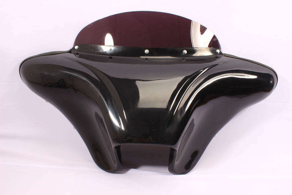 "BATWING FAIRING WINDSHIELD FOR SUZUKI VS 1400 Intruder 6.5"" SPEAKER"