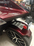 "Talon Billets - Rear fender ""Hugger style"" Polaris Slingshot  Base SL SE SL 2015 16 17 Fiber"
